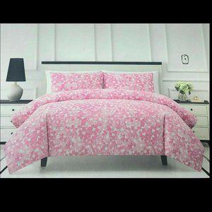 ISO kate spade Inky Floral Pink comforter bedding set
